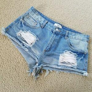 Forever 21 shorts 💙